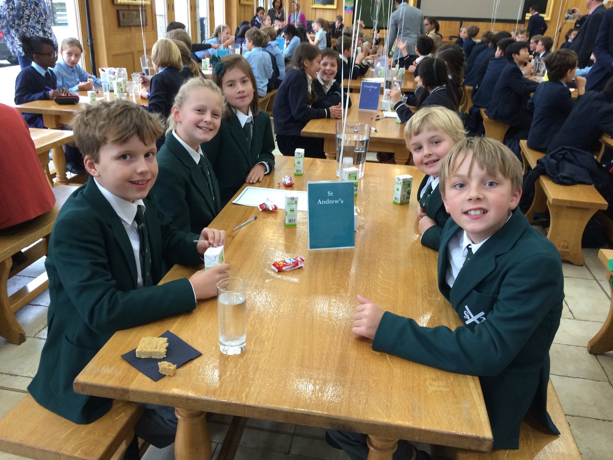 St Andrew's take 3rd place at the MCS Quiz