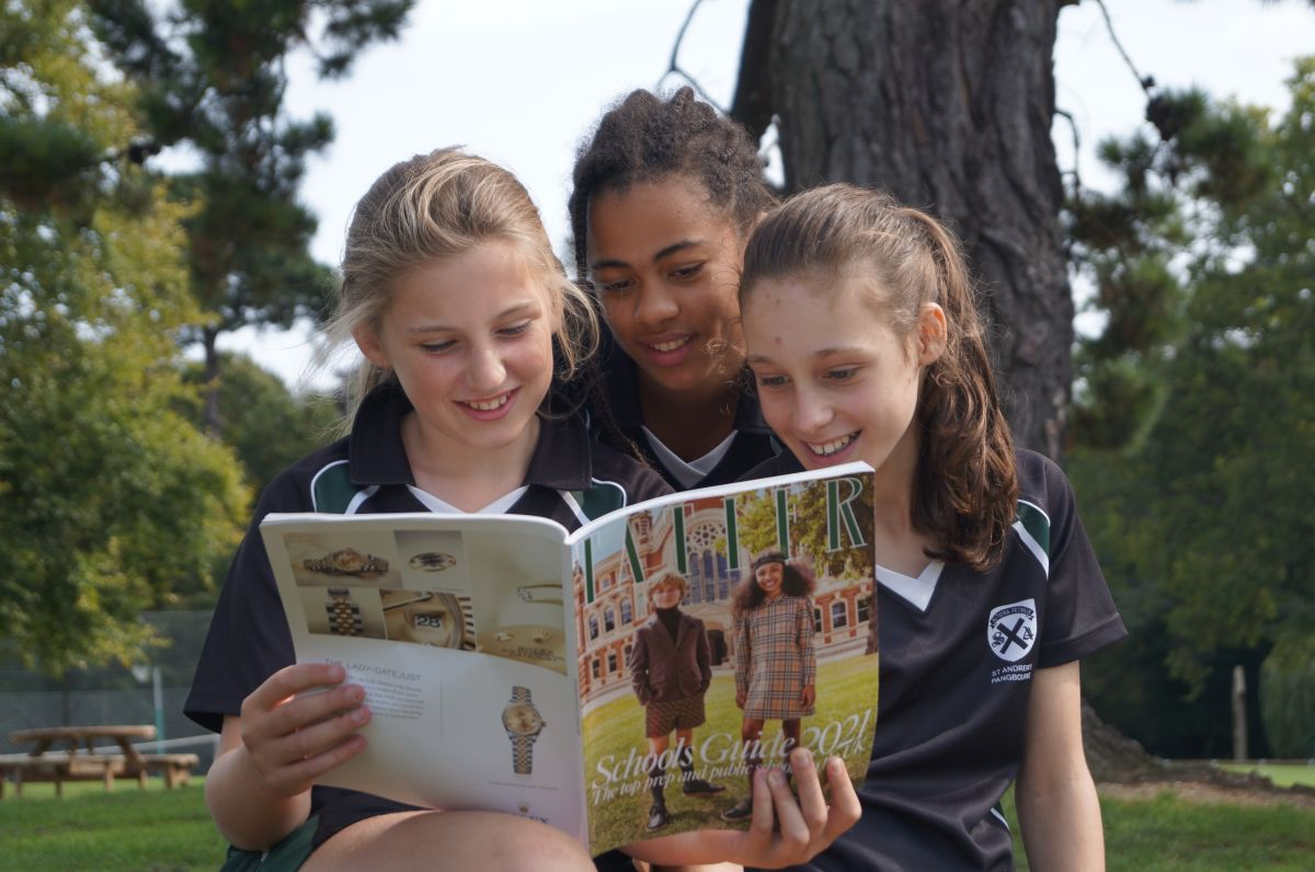 St Andrew's features in the Tatler Top Prep Schools Guide 2021