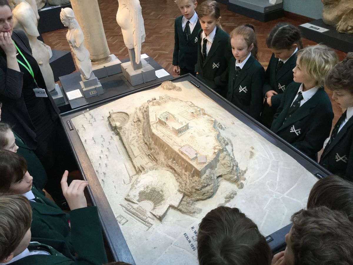 Year 4 Visit to the Ashmolean Museum, Oxford