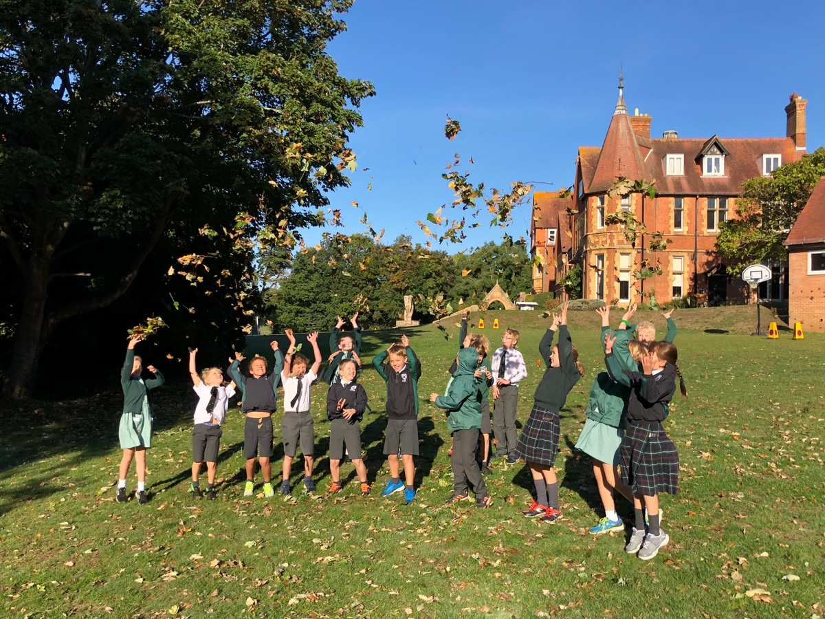 Autumn inspired poetry by Year 5