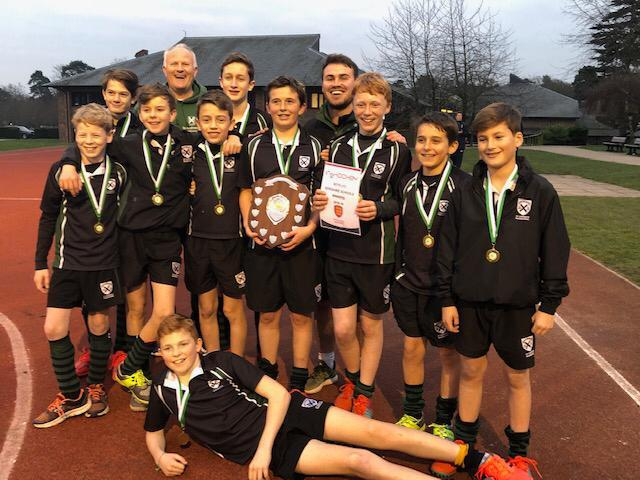 U13 Boys' County Hockey Champions!